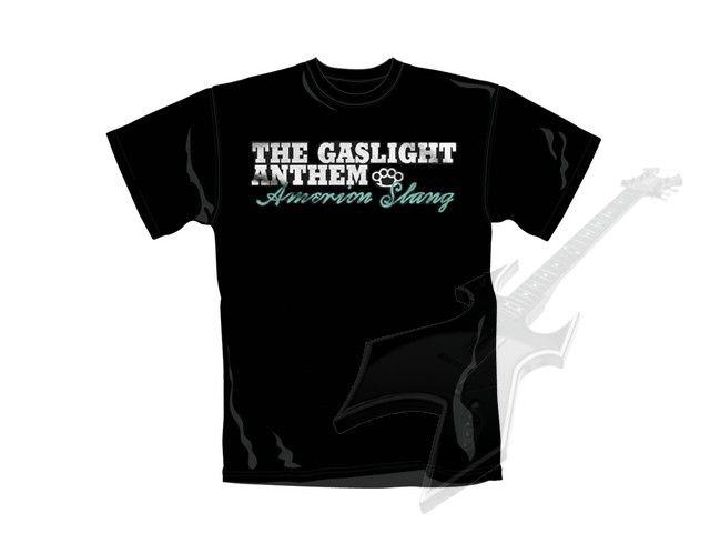 Gaslight Anthem t-shirt American Slang   Rock Kleding Webshop #1!   Bestel Voordelig en Snel bij Rock-nation.nl