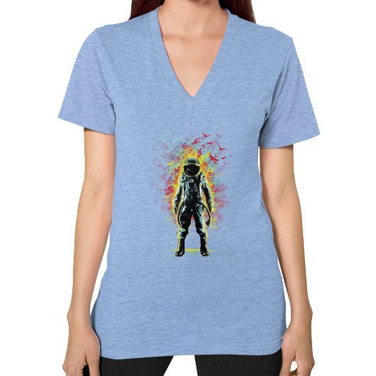 Subconscious Inner Space V-Neck (on woman)