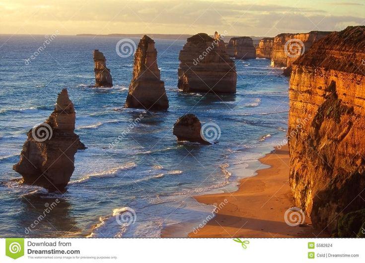 Dodici Apostoli, Australia Del Sud Immagini Stock - Immagine: 5582624