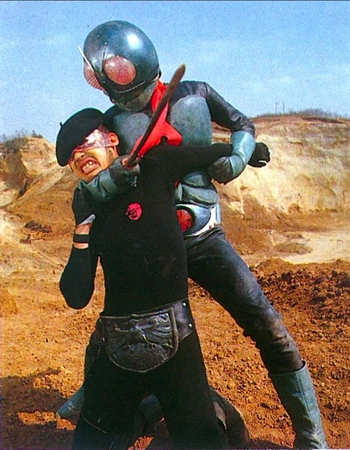Kamen Rider 1 vs Shocker goon | 仮面ライダー1号対ショッカー戦闘員