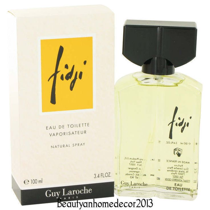 FIDJI by Guy Laroche 3.4 oz / 100 ml EDT Spray Perfume for Women New in Box #GuyLaroche