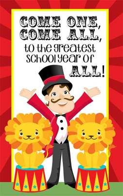 CIRCUS - Classroom Decor: MEDIUM BANNER, Come One, Come All from ARTrageous Fun  on TeachersNotebook.com -  (1 page)  - CIRCUS Theme - Classroom Decor: MEDIUM BANNER, Come One, Come All