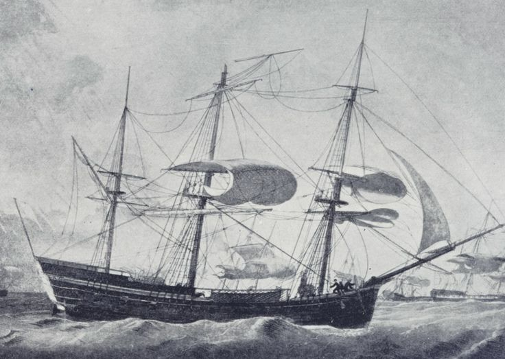 The Lady Juliana - A ship headed for the newly founded land of Australia carried female convicts.