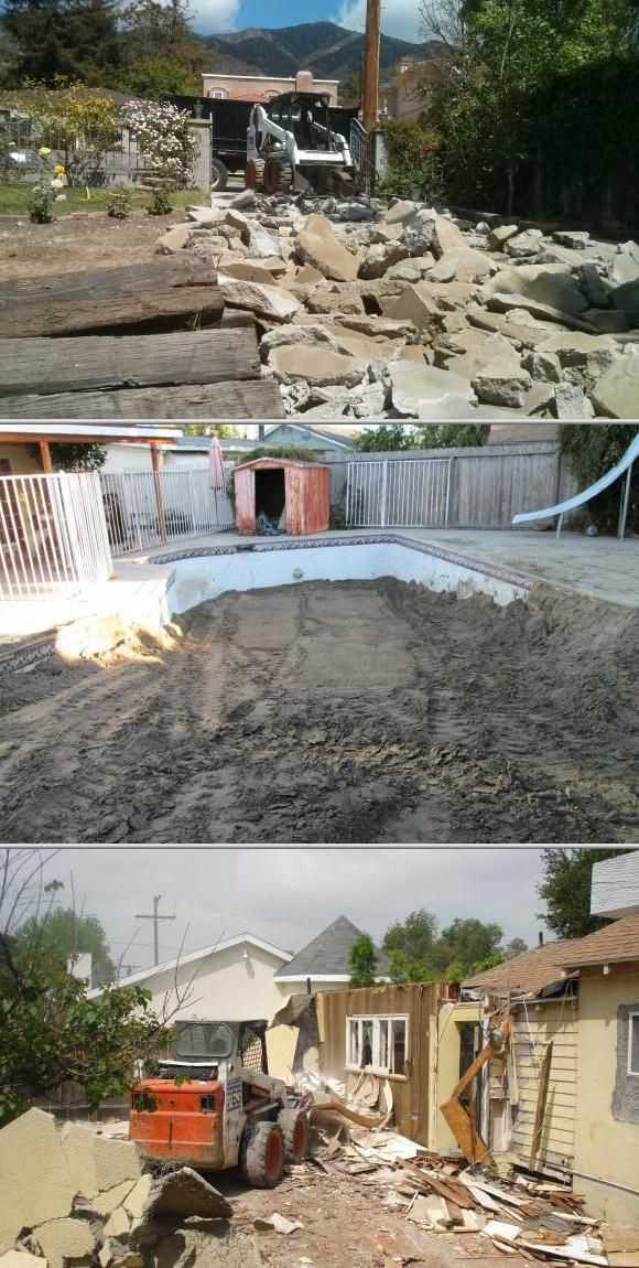 This company provides demolition and hauling services to meet all your needs. They also do dirt and concrete removal, general construction clean up, garage demolition and many more. Click for more photos and reviews.