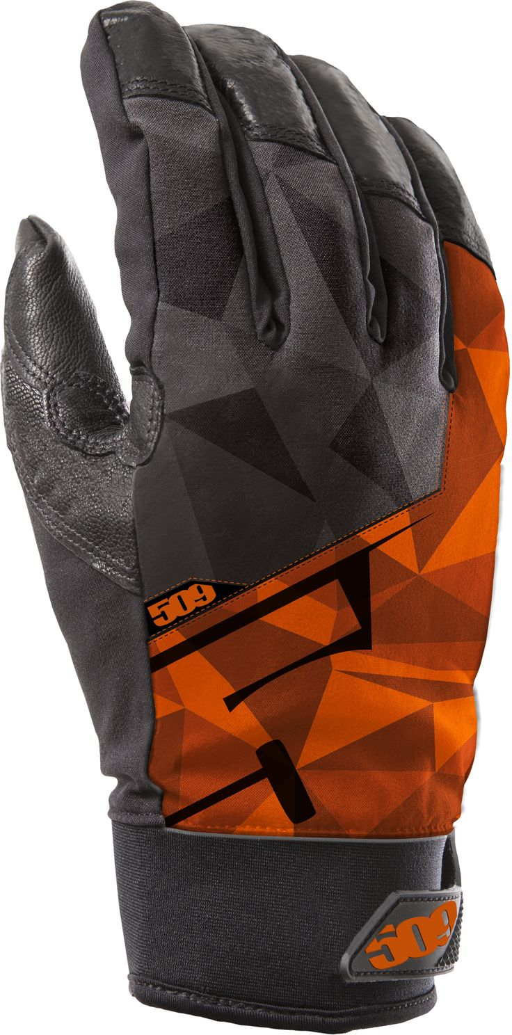 509 Freeride Snowmobile Gloves Orange