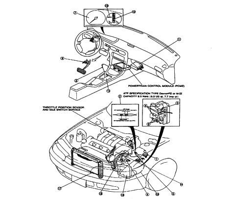 Mazda GF4A-EL & Ford GF4EAT Transmission Repair Manual