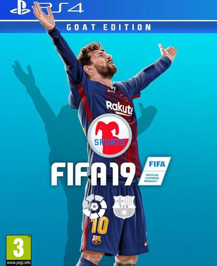 Fifa 19 Capa Messi Fifa Messi Fifa 20