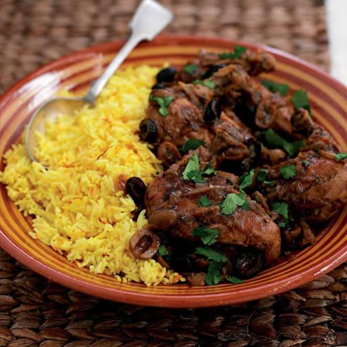 NEFF - CookingPassion Blog: Tajine di pollo con riso allo zafferano #ricette #Neff #cookingpassion