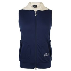 EMPORIO ARMANI EA7 Sleeveless Fleece Gilet at Flannels Fashion