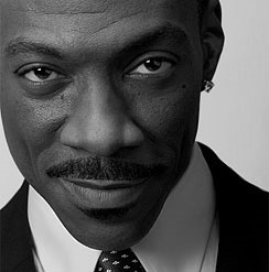 Eddie Murphy - charm, hilarity and that LAUGH! Miss days of Beverly Hills Cop.