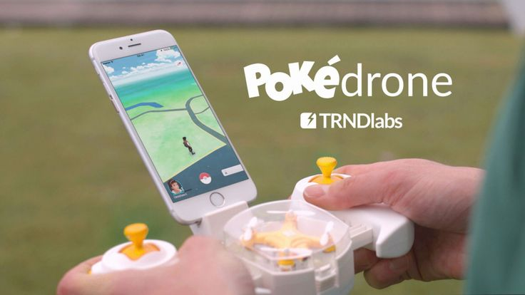 TRNDlabs' Pokédrone is specially designed for all Pokémon Go players. Once connected via WiFi to your phone, the Pokémon Go…