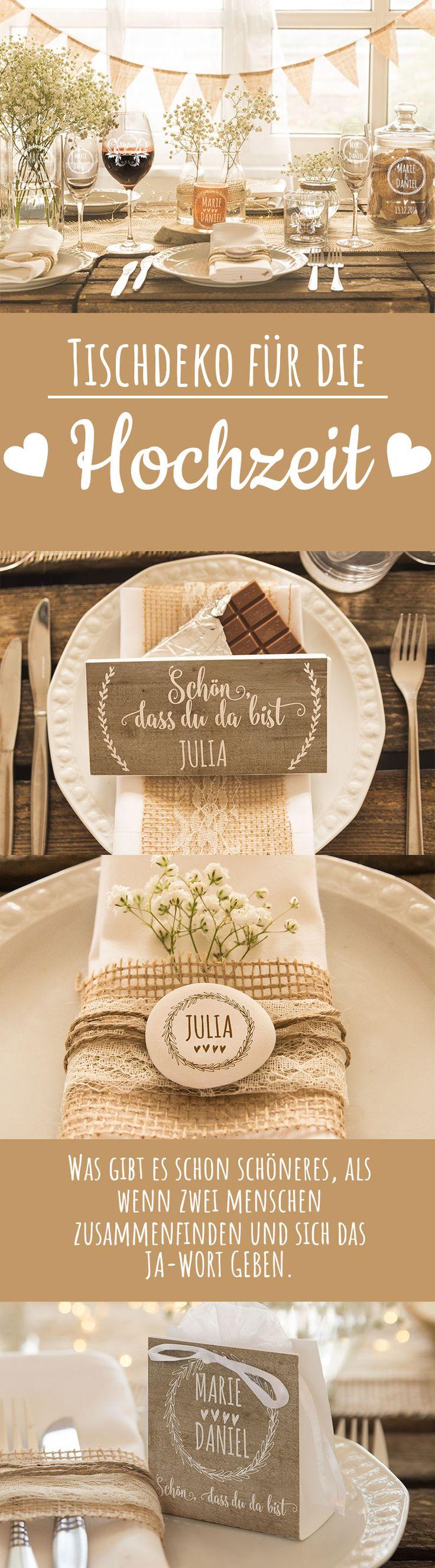 Was gibt es schon schöneres, als wenn zwei Menschen zusammenfinden und sich das Ja-Wort geben?! Hochzeitsgeschenke, Geldgeschenke und Gastgeschenke - all das findet ihr bei Personello.de