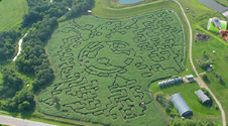 You thought the corn maze in Europe was cool! Check this Canadian one out!!!