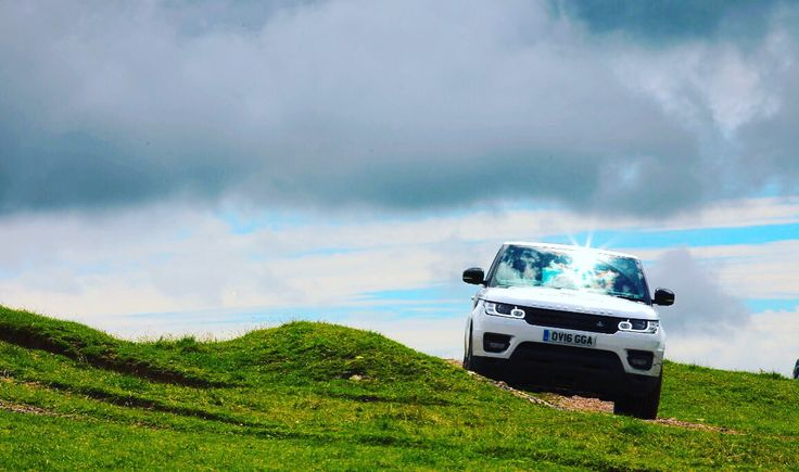 The Land Rover Experience West Country, in sunny Devon.