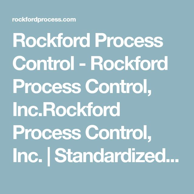 Rockford Process Control - Rockford Process Control, Inc.Rockford Process Control, Inc. | Standardized and Contract Metal Manufacturing