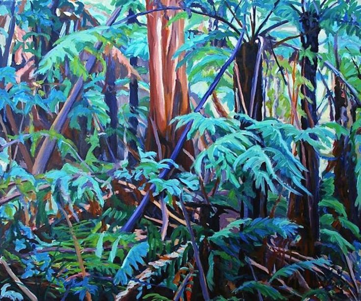 Barbara Bateman | Works | Fern Landscapes