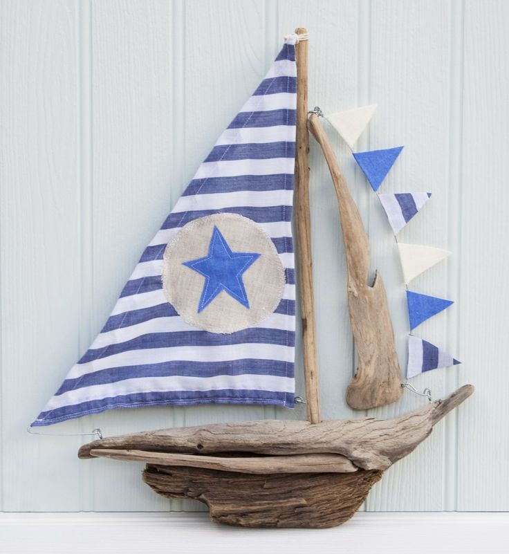 driftwood boat from Driftwood Dreaming.                                                                                                                                                                                 More