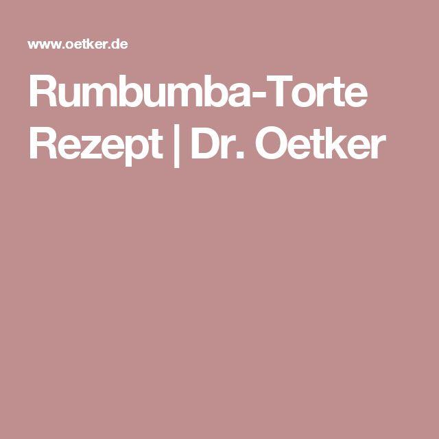Rumbumba-Torte Rezept | Dr. Oetker