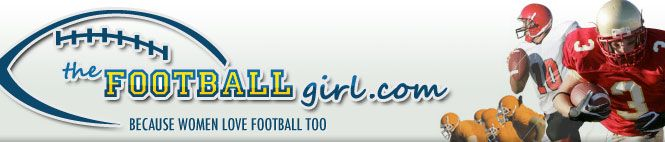 """The Football Girl - Becuase Women Love Football Too The Football Girl: Melissa Jacobs blogs about football, """"because women love football too."""" Her site features game analysis, exclusive interviews with players and fantasy football tips for women."""