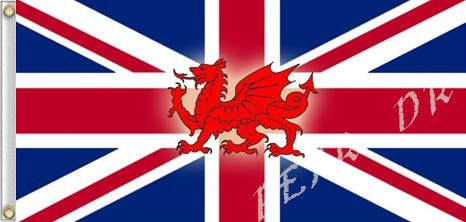 Бесплатная доставка! 3'x5', 90 X 150 см великобритания уэльс флаги 3 фут(ов) X 5 фут(ов) новый южный уэльс флаг баннеры