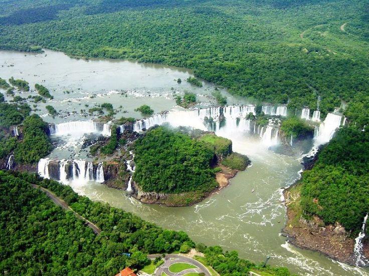 Iguazu falls, National Park, Misiones, Argentina