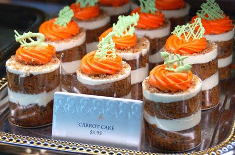 Carrot Cake Shot Glass Dessert