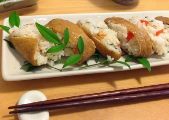 Simmered Abura-age (Deep-Fried Tofu) for Inari Sushi Recipe