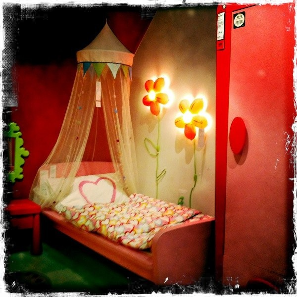 IKEA girls room.  I will have this!!