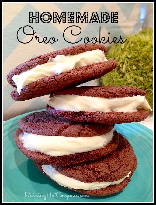 Homemade Oreo Cookies Recipe - Raining Hot Coupons