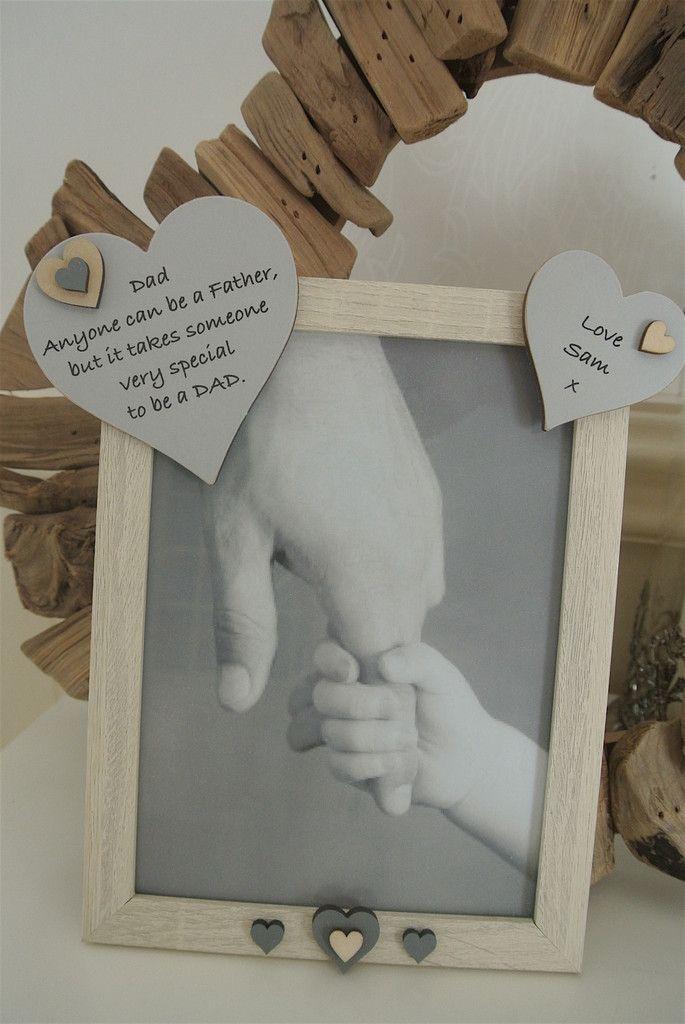 Dad Personalised Photo Frame