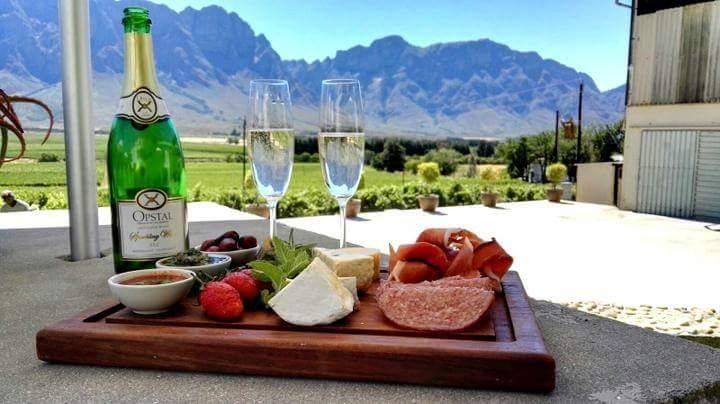 Interesting wine estates to visit in South Africa - Opstal Estate and Restaurant...offers tourists and locals alike a place to enjoy top notch cuisine and superb wines. Diners can enjoy a blazing fire during the cold winter months and outside tables in the summer.#wine #southafrica #tourism #extremefrontiers #wineroute #adventure #holiday #vacation #vineyard #tourist #travel