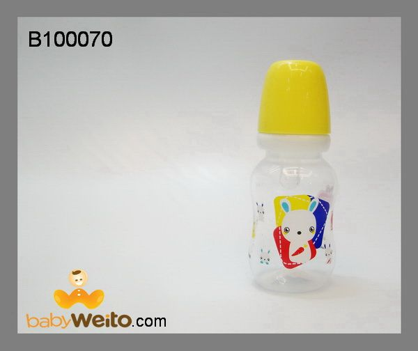 B100070  Botol Susu  BPA Free  Warna sesuai gambar  Ukuran : 120ml  IDR : 35*