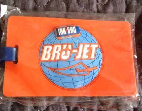 Irn Bru Collectibles - luggage tag