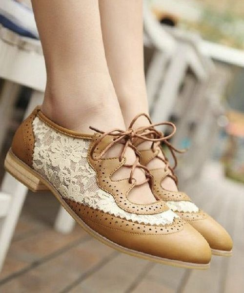 Beautiful Casual Lace Shoes 2017