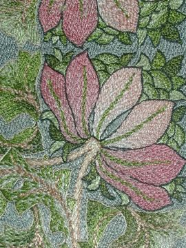 Morris embroidery  c 1890-1900    probably designed by May Morris