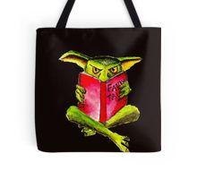 Reading Goblin Tote Bag