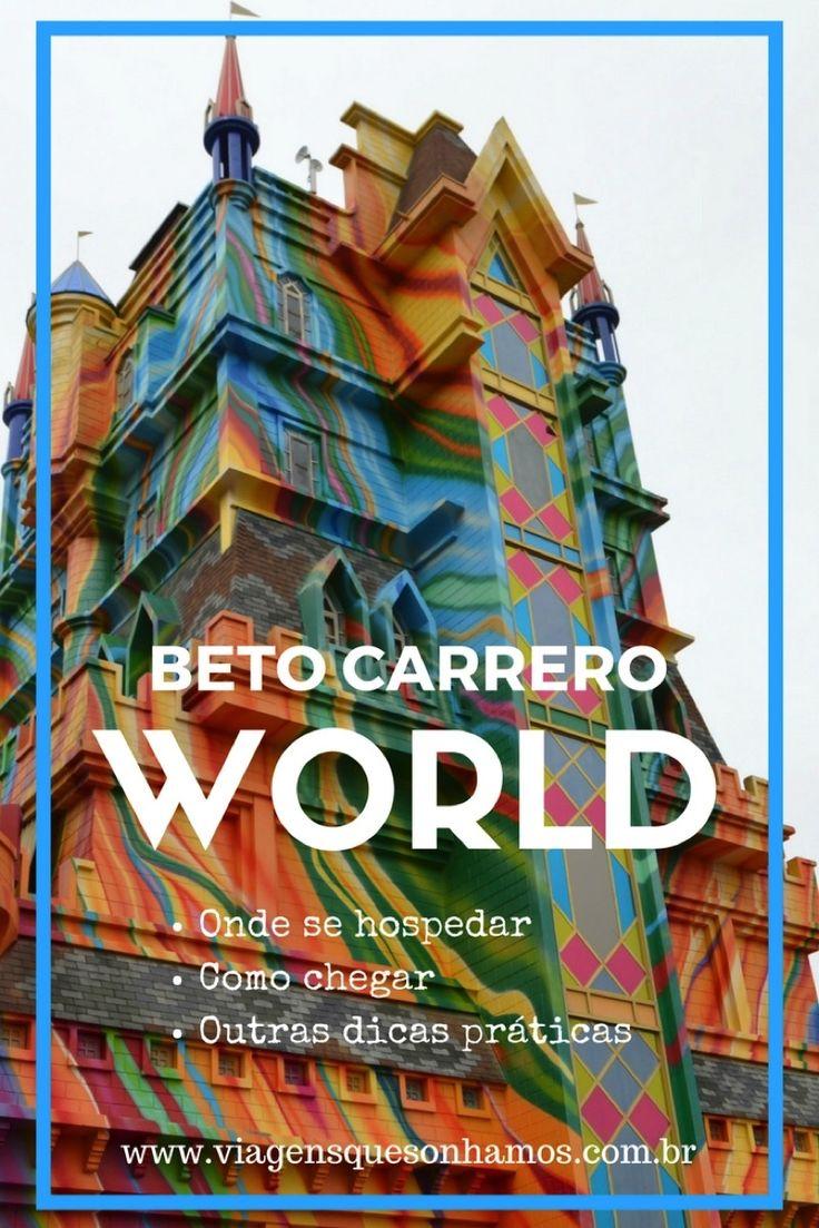 Onde se hospedar para visitar o Beto Carrero World