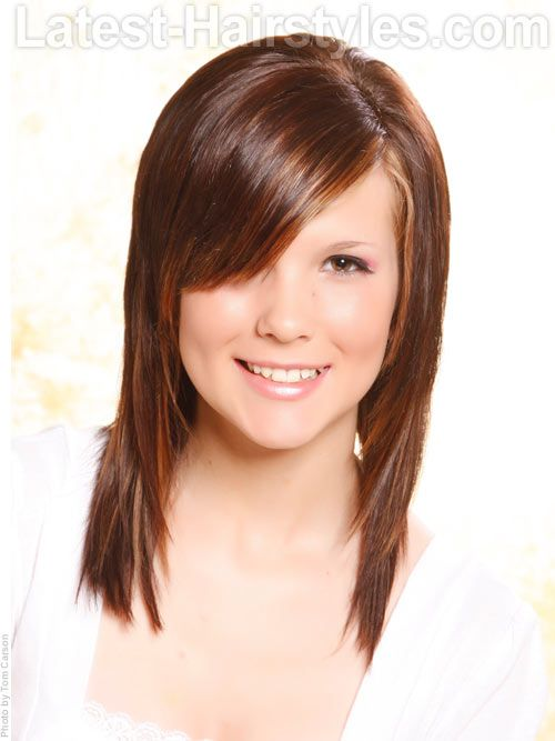 Easy Hairstyle For Bangs : Best fine hair images on