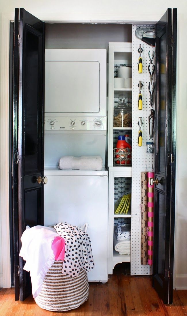 17 best images about laundry closets on pinterest for Extra closet storage