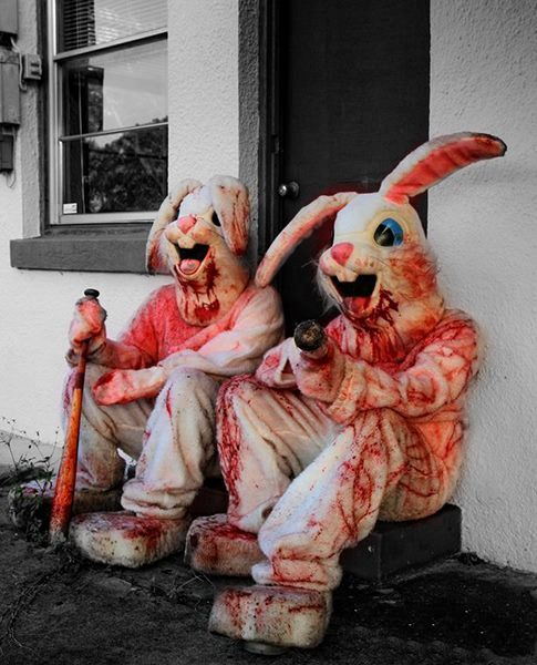 bad Rabbits or zombie bunny killers