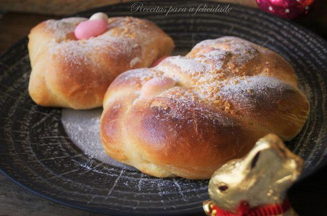 Pãozinho Doce de Páscoa