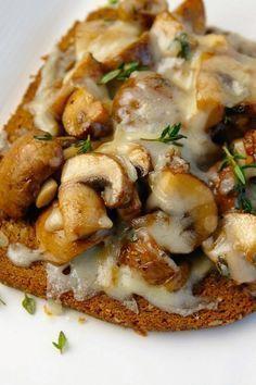 Broodje paddestoelen uit de oven - Lovemyfood.nl