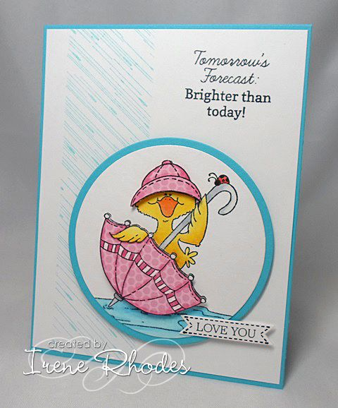 SC434 Tomorrows Forecast by DandI93 - Cards and Paper Crafts at Splitcoaststampers. Papertrey Ink.