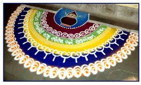 rangoli designs for diwali free hand - Google Search