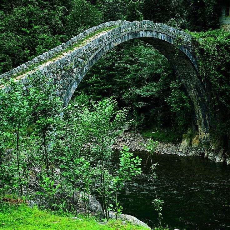 Mysterious Old Bridges That Have Stood The Test Of Time http://www.demilked.com/old-rural-beautiful-bridges/