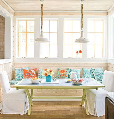 bright + white nook