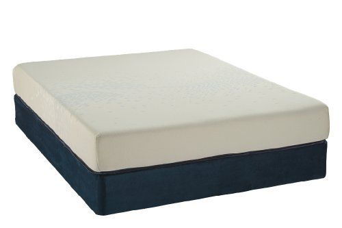 """Englander Bodiform 7521 Memory Foam Mattresses, Twin, Navy/Cream by Englander. $506.19. 1 Layer of Gel Visco. Smooth Quilt. Full Wrap. 5 1/2"""" High Density Foam Base. Made with the finest latex the world has to offer, Englander mattress toppers transform your sleeping experience. Is your mattress too firm? Do you want to sleep on latex but want to try it out before you make the investment? This is the perfect product for you and your family. At Englander, we've ..."""