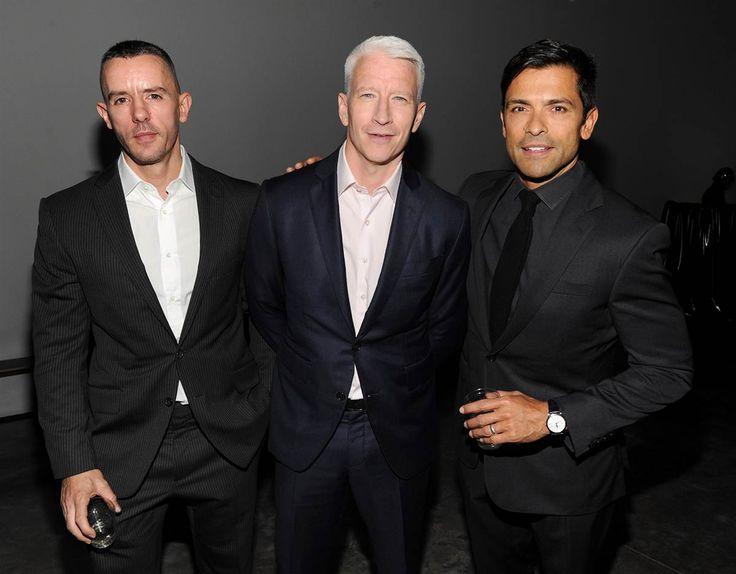 Benjamin Maisani, Anderson Cooper, Mark Consuelos