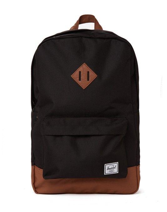 Herschel Heritage Backpack Black - BLACK FRIDAY SALE NOW ON!!!