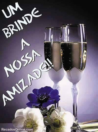Brinde-Frase-Um brinde a nossa amizade!!